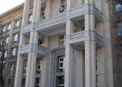 Wejście do budynku Wydziału Matematyki, Informatyki i Mechaniki UW