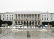 Lwy przed pałacem Lubomirskich