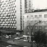 Ulica Grójecka w latach 80-tych