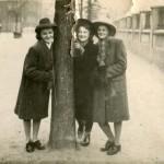 Na Krzywickiego tuż po wojnie