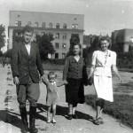 Spacer po Parku Wielkopolski – 1943 r.