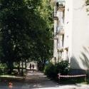 ulica Nieborowska w kierunku Białobrzeskiej
