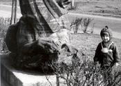 Pasteura - rzeźba lwa