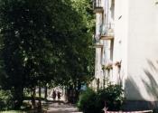 Nieborowska w kierunku Białobrzeskiej