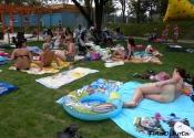 Zespół basenów OSiR-u w parku Szczęśliwice