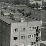 Widok na Ochotę z dziesiątego piętra